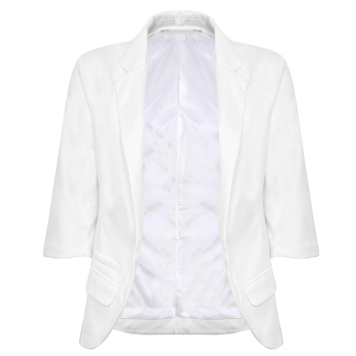 White Tailored Blazer Preview